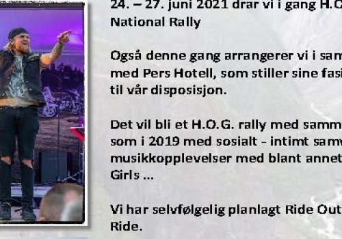 National Rally 2021